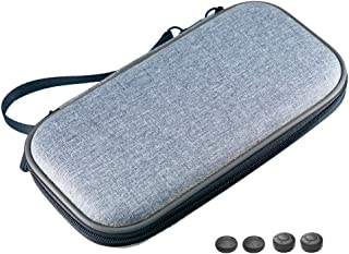Nintendo Switch Lite ケース ニンテンドースイッチLite専用 衝撃吸収 キャリングケース 収納バッグ ドッキング キット おしゃれ 旅行 Switch Lite ゲーム アクセサリー (グレー/グレー)