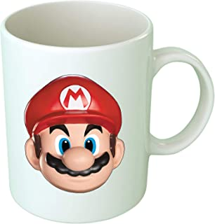 Upteetude Super Mario Happy Printed Coffee Mug