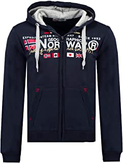 Geographical Norway Veste Polaire enti/èrement zipp/ée mi Saison pour Homme mod/èle Title Existe en 5 Coloris S-XXXL