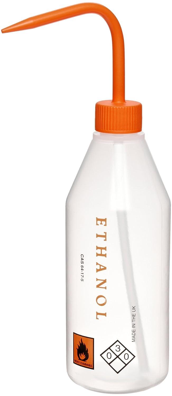 Azlon Max 41% OFF 506915-0008 500mL Orange Columbus Mall Sloped Shoulder Bottle Wash With