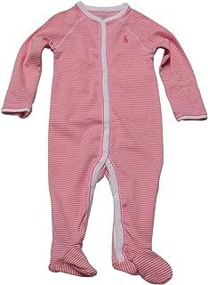 Ralph Lauren Baby Girl Coveralls Pajamas Infant One Piece Footies Footed
