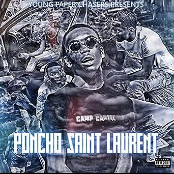 Poncho Saint Laurent
