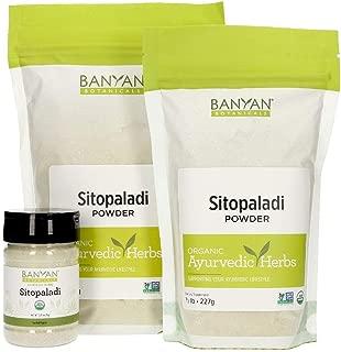 Banyan Botanicals Sitopaladi Churna Powder - Certified USDA Organic, Spice Jar - Traditional Ayurvedic Formula for Lung Support & Healthy Breathing*