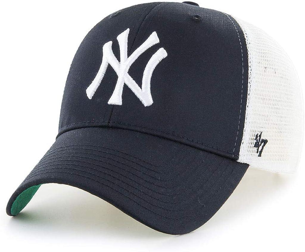 47 Brand Trucker Cap BRANSON Metallic New York Yankees
