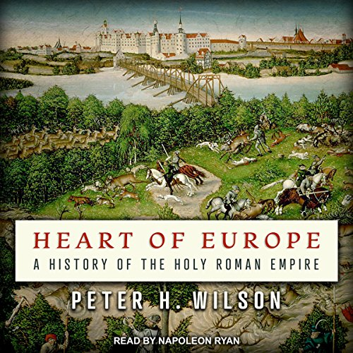 Heart of Europe audiobook cover art
