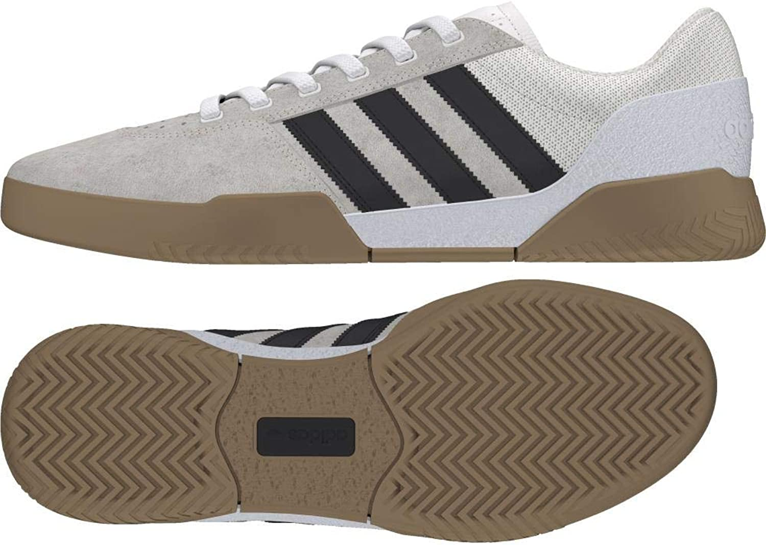 Adidas City Cup shoes - White Black Gum