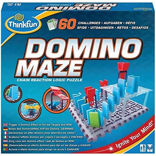 ThinkFun Domino Maze, Multicolore, 76373