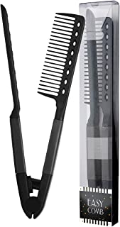 Herstyler Comb For Straightening Hair – Hair Styling Comb For Great Tresses –..