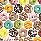 Delicious Donuts Gift Wrapping Roll - 24in x 15ft