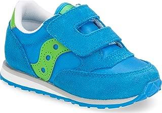 Saucony Boys' Baby Jazz HL Sneaker, Blue/Green, 4.5 Medium US Toddler