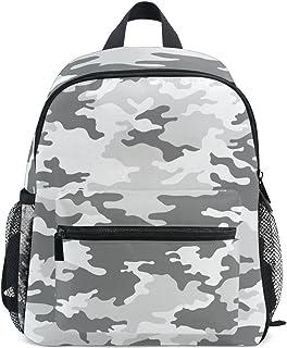 MONTOJ Camouflage Grün Weben Segeltuch Reisetasche Verstaubarer Unisex Schule Pack Daypack für Kinder