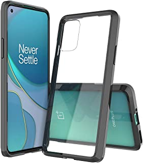 Sucnakp OnePlus 8T Case OnePlus 8T+ 5G Case One Plus 8T Case 1+8T Case Premium Clear Back Panel + TPU Bumper Cover for One...