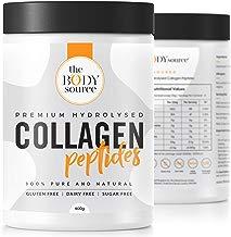 Protéine de Collagène en Poudre | 400g Peptide de Collagene Hydrolysé | Complement Alimentaire pour les Muscles, la Peau, les Os, les Cheveux, les Ongles - The Body Source™