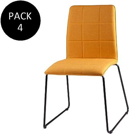 Amazon.es: silla mostaza - 200 - 500 EUR: Hogar y cocina