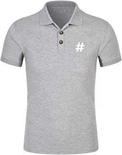 Simayixx Shirts for Men, Pullover Plus Size Dri-Fit Golf Shirt Moisture Wicking Sport Tops Business Blouses Tee
