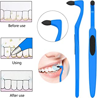 4 Pack Tooth Stain Remover, Dental Calculus Plaque Cleaning Eraser Plaque Remover for Fighting Tartar Teeth Stains Teeth Polishing