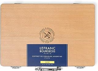 Lefranc & Bourgeois Estojo Tinta Óleo Fine Coffret, Multicor, Pacote de 1