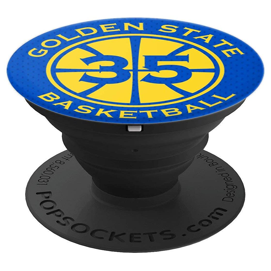 PopSockets: Golden State Basketball Legend No. 35 - PopSockets Grip and Stand for Phones and Tablets