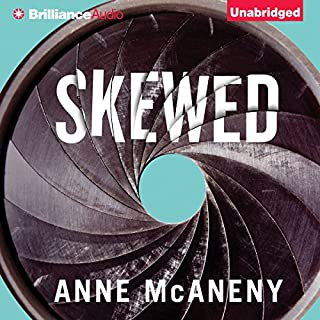 Skewed audiobook cover art
