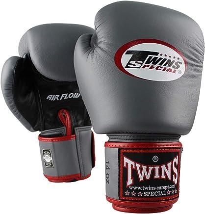 Twins Special Boxhandschuhe BGVL 3 AIR - Grau - Boxhandschuhe Kickboxen Sparring Muay Thai Leder mit Airflow System - Must Have für Thaiboxer - Handgefertigt in Thailand von Twins B07K39JYD3     | Preisreduktion