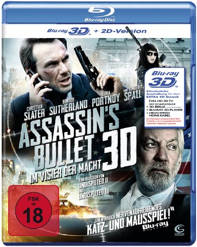 Assassin's Bullet - Im Visier der Macht (3D + 2D-Version) [Blu-ray 3D]
