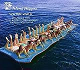 Island Hopper 20 Foot Water Walk Floating Foam Water Mat - Super Buoyant - Triple Layered - Mesh Reinforced