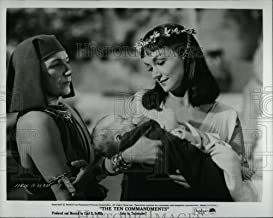 Vintage Photos 1956 Press Photo Judith Anderson and Nina Foch in The Ten Commandments - Historic Images