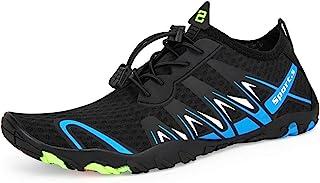 Zapatos de Agua Hombre Mujer Antideslizante Natación de Secado Rápido Playa Surf Ciclismo Zapatos