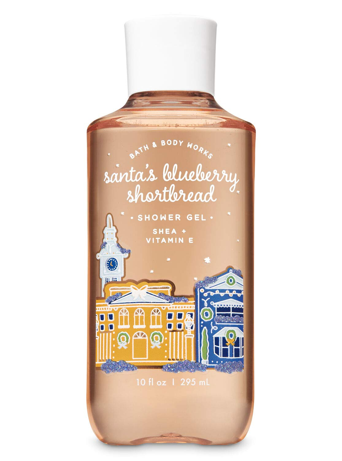 Bath Phoenix Mall and Body Works Santa's Gel Shortbread security Shower with Blueberry