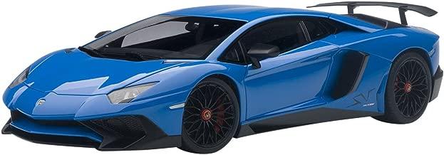 Lamborghini Aventador LP750-4 SV Blue Le Mans/ Blue 1/18 by Autoart 74559