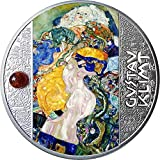 Power Coin Baby Gustav Klimt Moneda Plata 500 Francos Cameroon 2021