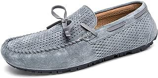 8HAOWENJU Sailing Shoes, Men's Sailing Shoes, Breathable Shoes, Men's Youth Trend Shoes, Hollow Men's Shoes, Large Size Casual Shoes, Black Gray, Light Brown,