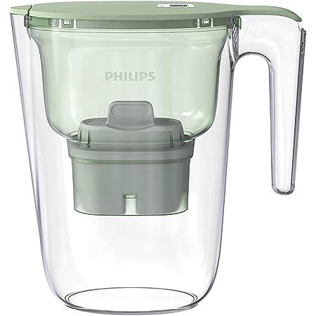 Philips Micro X-Clean Carafe filtrante à débit rapide Vert pastel 2,6 l