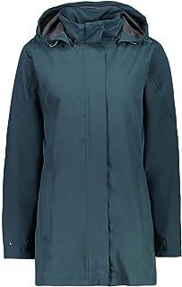 CMP Windproof And Waterproof Rain Jacket Wp 10.000 Chaqueta Larga Para La Lluvia Mujer