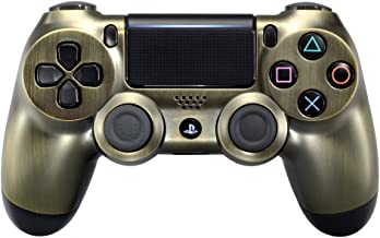 eXtremeRate Chrome Edition Front Housing Shell Faceplate for Playstation 4 PS4 Slim Pro Controller (CUH-ZCT2 JDM-040 JDM-050 JDM-055)