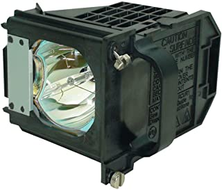 AuraBeam Professional 915P061010 Television Replacement Lamp for Mitsubishi WD-65733 with Housing (Powered by Philips)