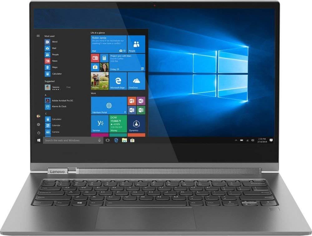 Amazon Com Lenovo Yoga C930 13ikb Intel Core I5 8250u 8gb Ram 256gb Ssd Iron Grey Electronics