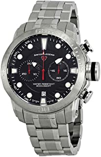 Swiss Legend Seagate Chronograph Black Dial Watch SL-10624SM-11