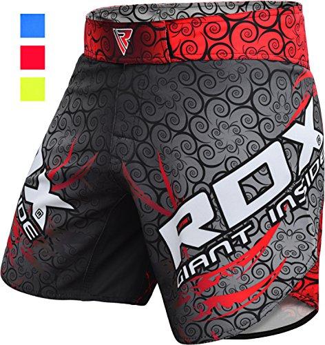 RDX MMA Boxe Pantaloncini Pugilato Sport Palestra Shorts Muay Thai Sportivi Kick Boxing
