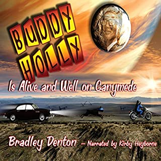 Buddy Holly is Alive and Well on Ganymede audiobook cover art