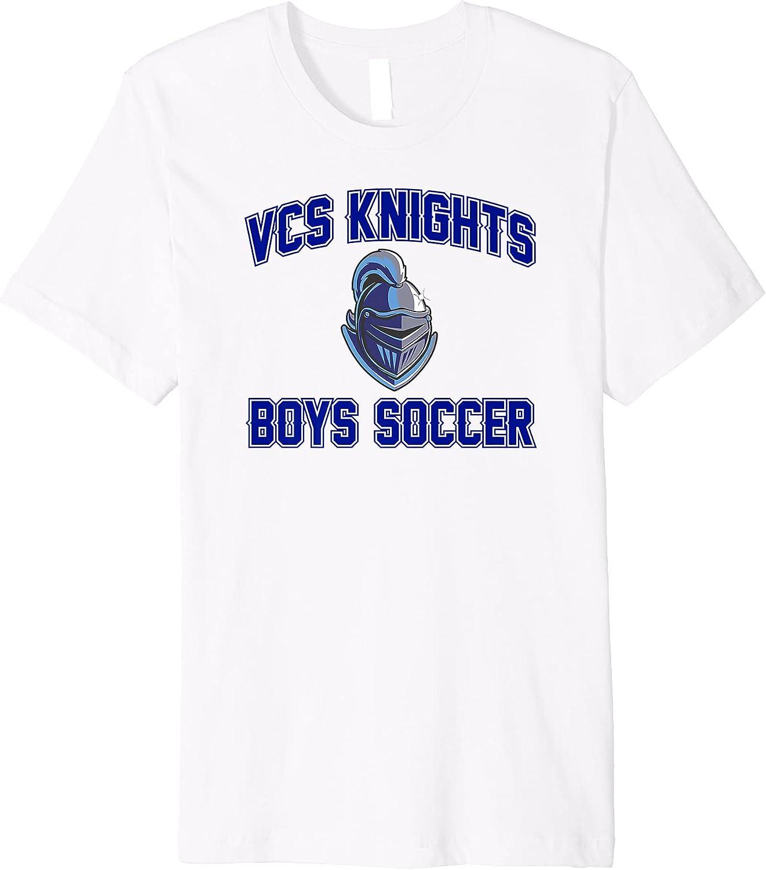 Vance Charter School Middle School Boys Soccer Arch Premium T-Shirt