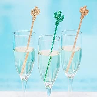 Cactus Party Stir Sticks, Bachelorette Bridal Shower Fiesta Party Drink Stirrer Bar Decor Summer Southwestern Party Decor
