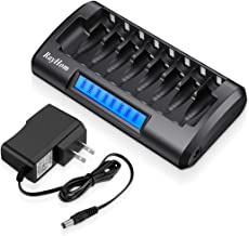 Best 8 bay 18650 charger Reviews