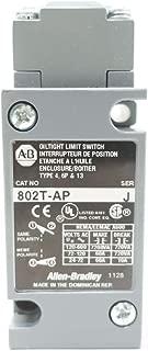 ALLEN BRADLEY 802T-AP OILTIGHT LIMIT SWITCH SER J D572771