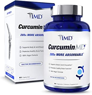 1MD CurcuminMD Plus - Turmeric Curcumin with Boswellia Serrata - 285x More Absorbable | Joint Pain Relief, Anti-Inflammato...