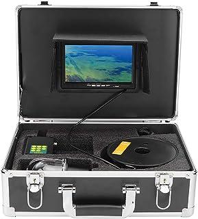 Buscador de peces con cable de 20 m, cámara de pesca impermeable IP68 de 7 pulgadas, cámara de video de pesca submarina de...
