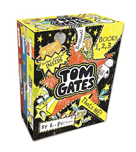 Pichon, L: Tom Gates That's Me! (Books One, Two, Three) (The Brilliant World of Tom Gates)