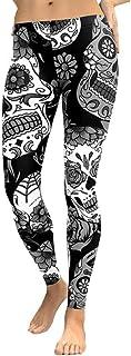 QUICKLYLY Yoga Mallas Leggins Pantalones Mujer,Mujeres Cintura Alta Gimnasio Yoga Correr Fitness Leggings Pantalones Ropa De Entrenamiento