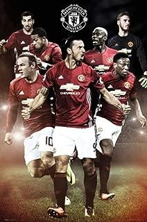 POSTER STOP ONLINE Manchester United - Soccer Poster/Print (Ibrahimovic - Season 2016/2017) (Size: 24