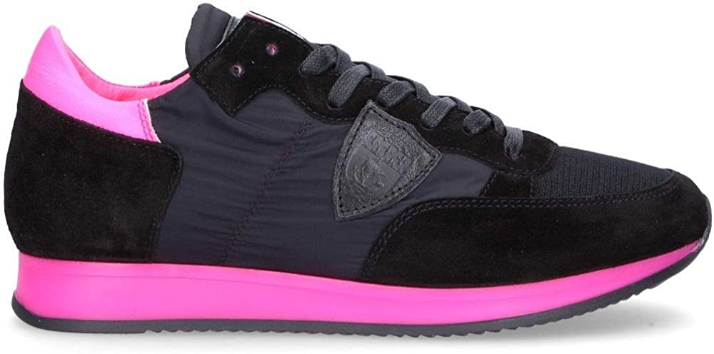 Philippe model luxury fashion, sneakers per donna,in pelle scamosciata,taglia 37 eu TRLDNF01